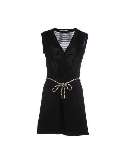 Sessun | Женское Чёрное Короткое Платье