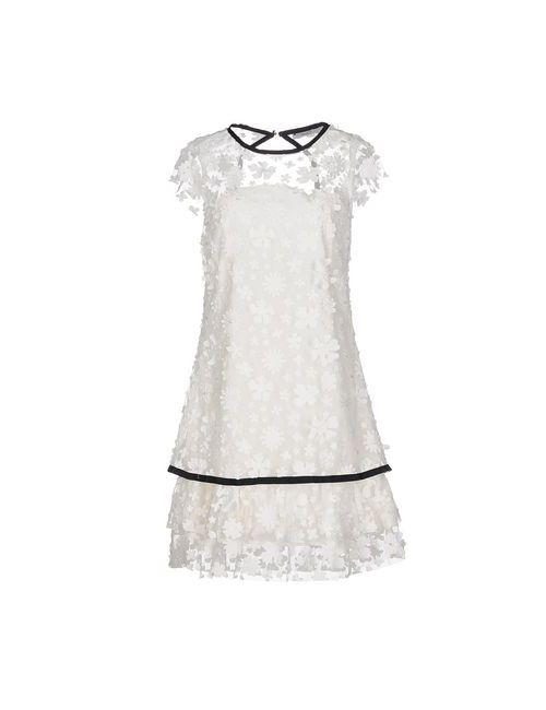 Relish | Женское Белое Короткое Платье