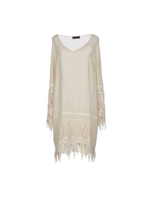 Jo No Fui | Женское Слоновая Костящее Платье До Колена