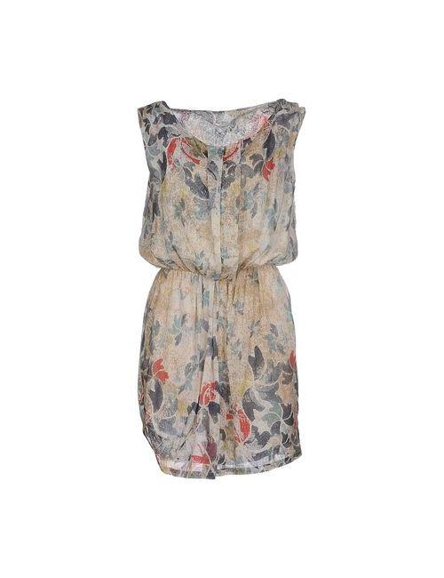 E-GÓ | Женское Серое Короткое Платье
