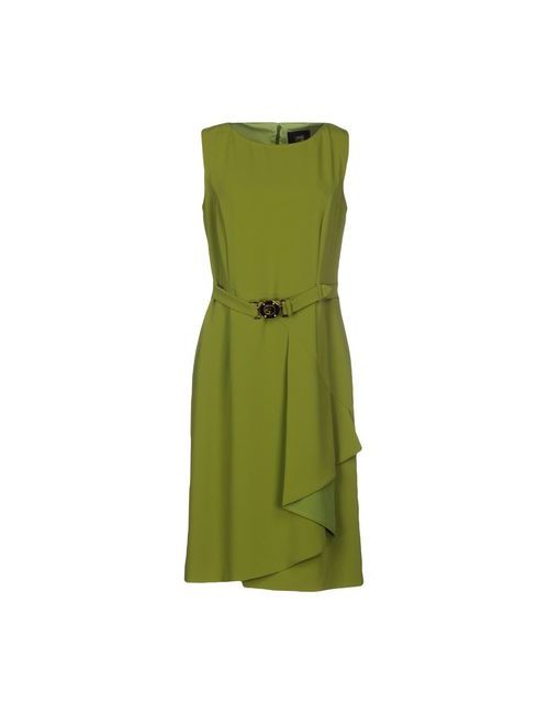 Class Roberto Cavalli | Женское Зелёное Короткое Платье