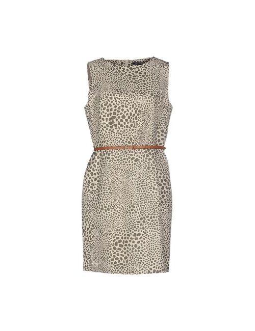 Tommy Hilfiger | Женское Бежевое Короткое Платье