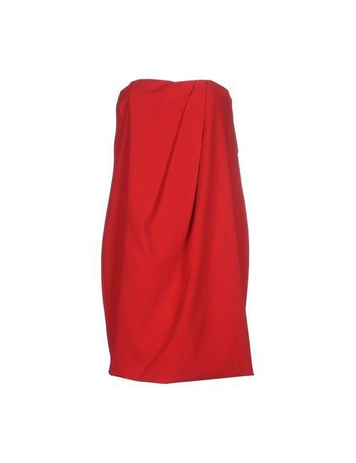 Space Style Concept   Женское Красное Короткое Платье