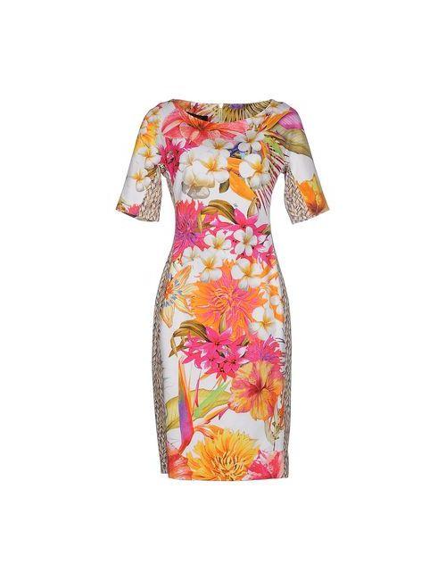 Clips | Женское Оранжевое Короткое Платье