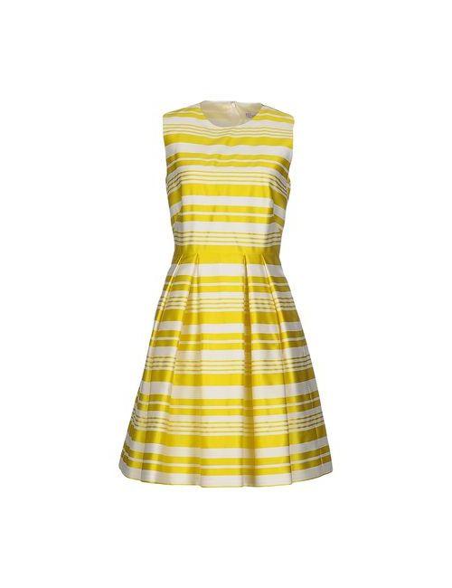 Red Valentino | Женское Жёлтое Короткое Платье