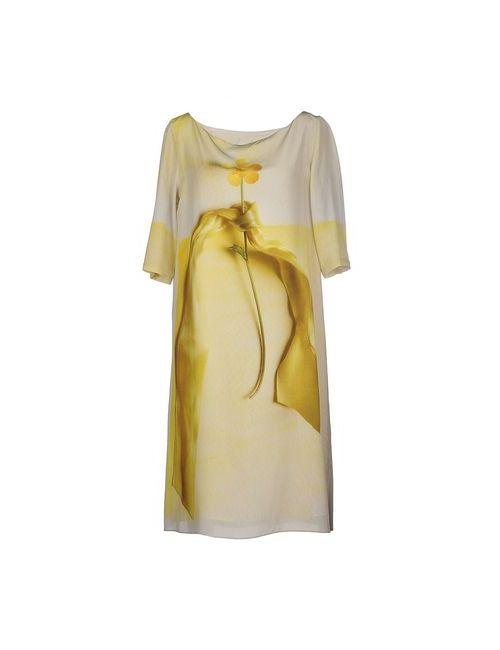 Antoni & Alison...   Женское Жёлтое Платье До Колена