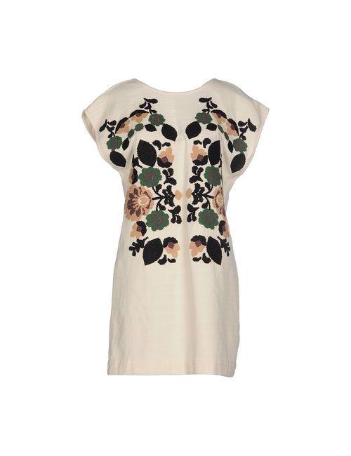 Hoss Intropia | Женское Слоновая Костящее Короткое Платье
