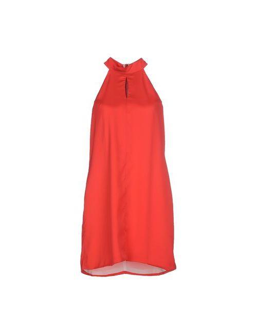 Silvian Heach | Женское Красное Короткое Платье