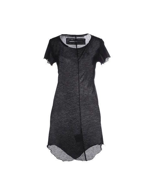 Rundholz | Женское Чёрное Короткое Платье