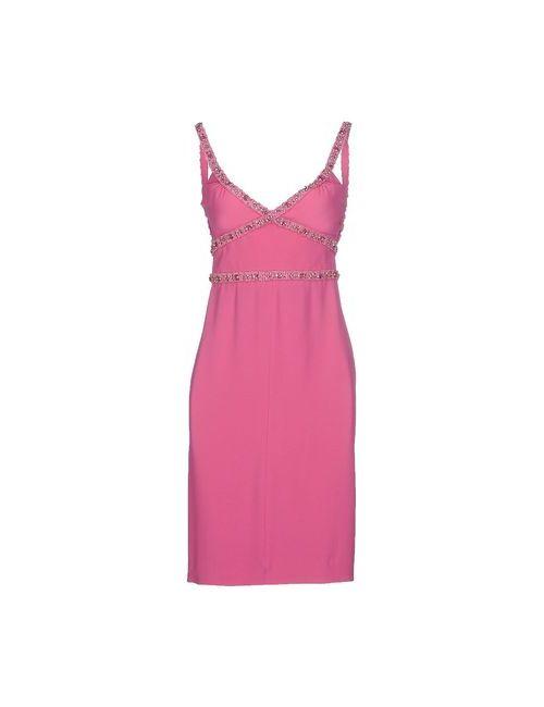 Dsquared2   Женское Фиолетовое Короткое Платье
