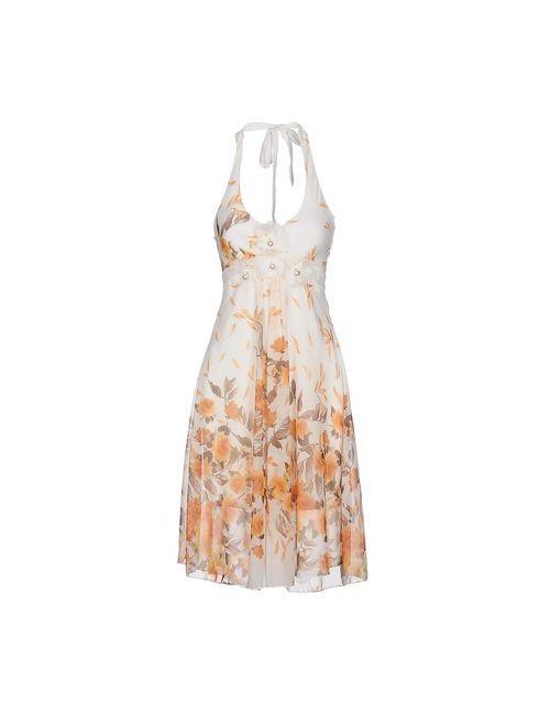 Rinascimento | Женское Жёлтое Платье До Колена
