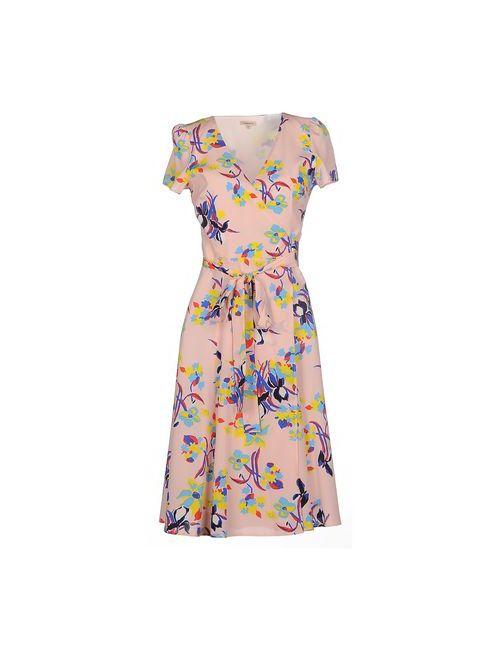 P.A.R.O.S.H. | Женское Розовое Платье До Колена