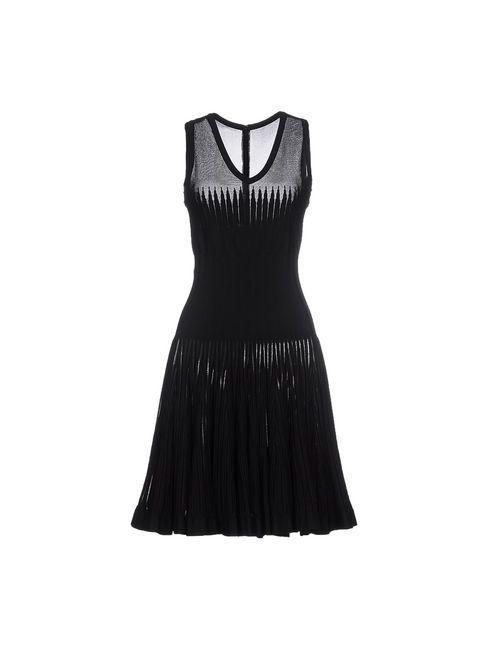 Alaïa | Женское Черный Короткое Платье