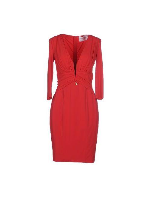 Passepartout Dress By Elisabetta Franchi Celyn B. | Женское Красное Короткое Платье