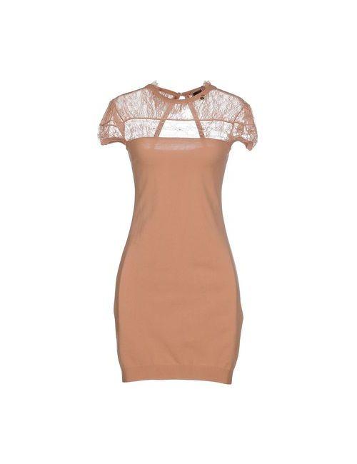 ELISABETTA FRANCHI | Женское Телесное Короткое Платье