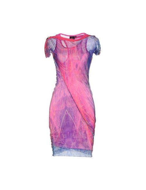 Mcq Alexander Mcqueen | Женское Розовое Короткое Платье