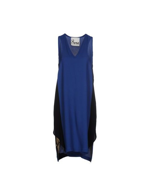 8pm | Женское Синее Короткое Платье