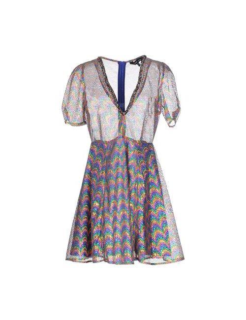 Sister Jane | Женское Синее Короткое Платье