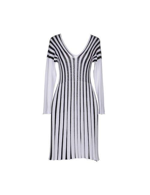 MURBES   Женское Черный Короткое Платье