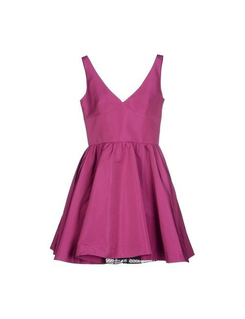 Red Valentino | Женское Фиолетовое Короткое Платье