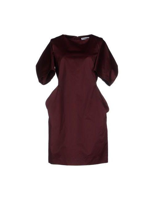 Jil Sander | Женское Баклажанное Короткое Платье