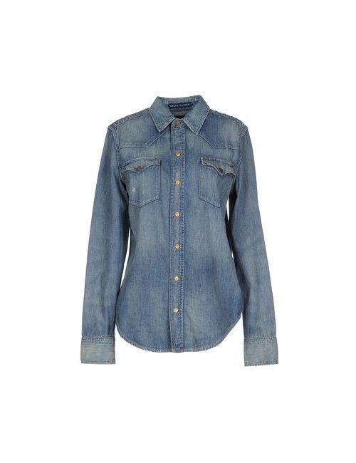 Ralph Lauren | Женская Синяя Джинсовая Рубашка