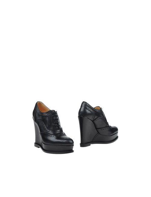 Barbara Bui | Женская Чёрная Обувь На Шнурках