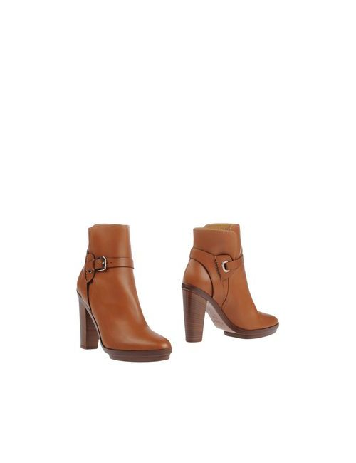 Ralph Lauren | Женские Коричневые Полусапоги И Высокие Ботинки