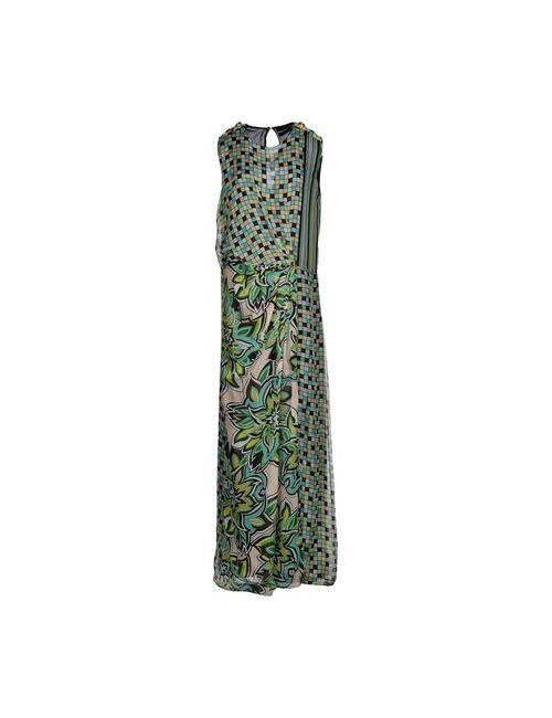 Marco Bologna | Женское Зелёное Длинное Платье