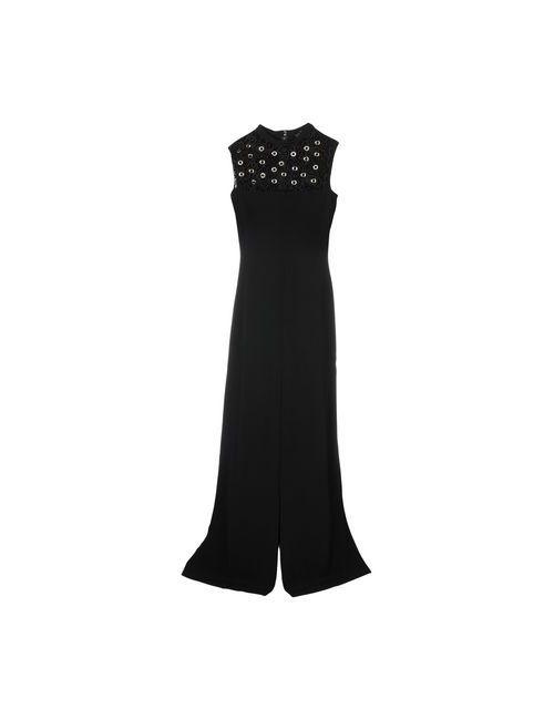 John Richmond | Женское Чёрное Длинное Платье
