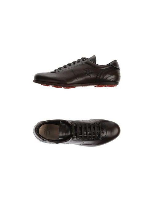 Pantofola d'Oro   Мужская Какао Обувь На Шнурках