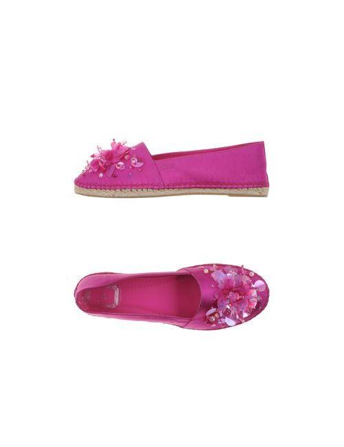 Dior   Женские Розовато-Лиловые Эспадрильи