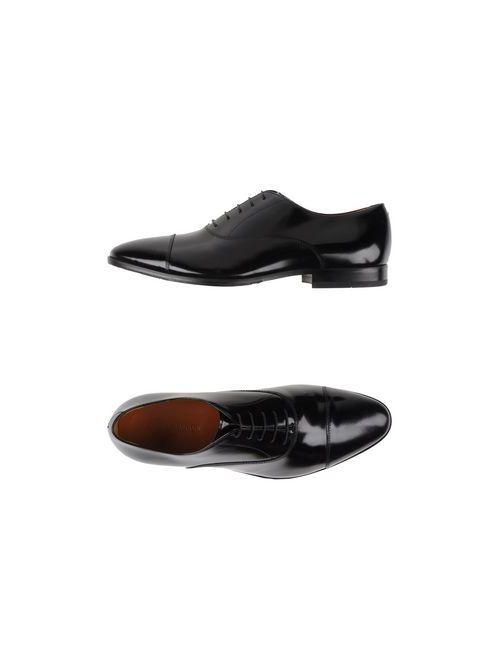 Alberto Guardiani | Мужская Черный Обувь На Шнурках