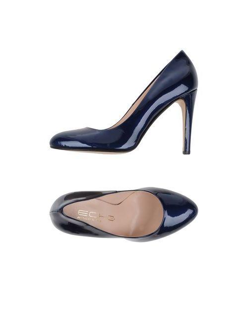 Echo | Женские Баклажанные Туфли