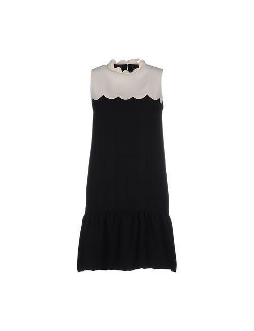 Victoria, Victoria Beckham | Женское Черный Короткое Платье