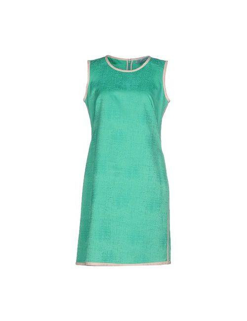 Blumarine | Женское Зелёное Короткое Платье