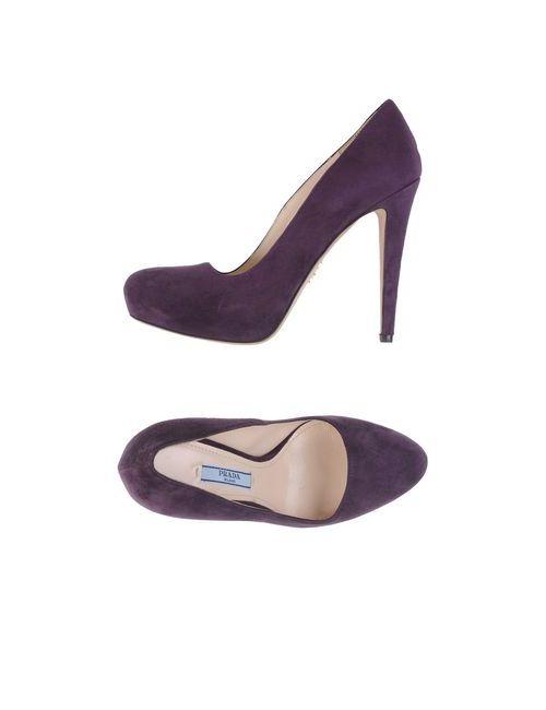 Prada | Женские Фиолетовые Туфли