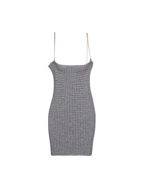 Missoni | Женское Коричневое Короткое Платье