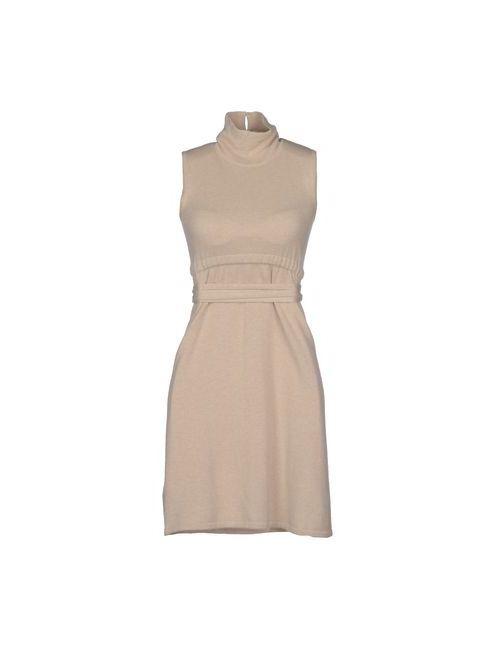 Kangra Cashmere | Женское Бежевое Короткое Платье