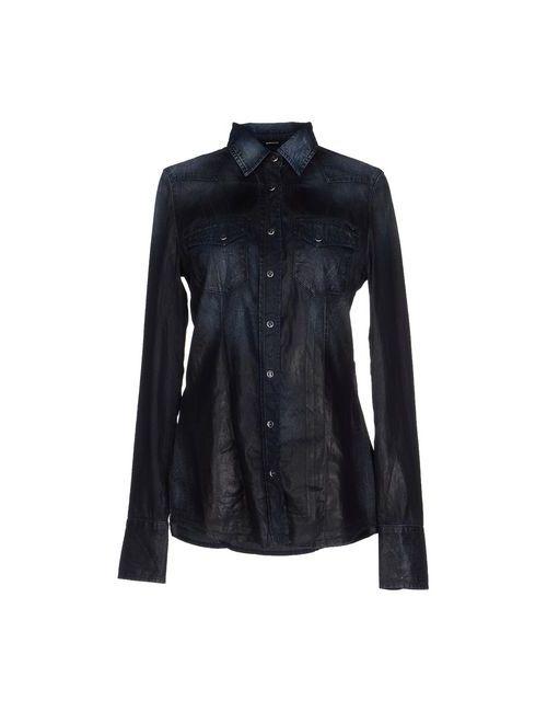 Gas | Женская Синяя Джинсовая Рубашка