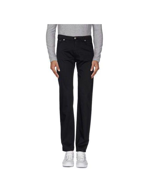 Versace Jeans Couture | Мужские Чёрные Повседневные Брюки