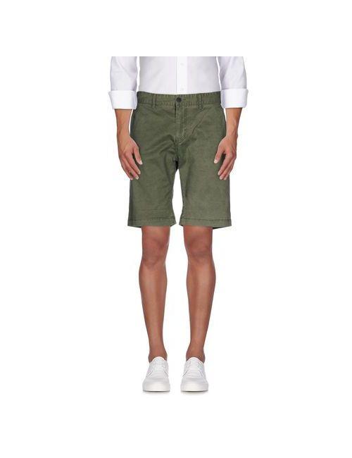 Selected Homme | Мужские Зелёные Бермуды