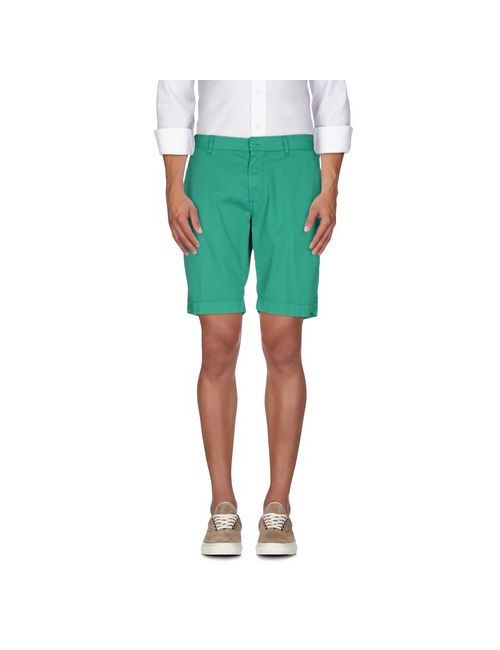 Perfection | Мужские Зелёные Бермуды