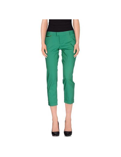 Dsquared2   Женские Зелёные Брюки-Капри