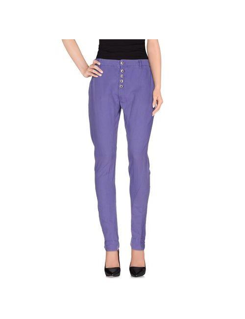 Pepe Jeans | Женские Фиолетовые Повседневные Брюки