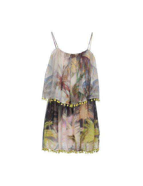 Relish | Женское Жёлтое Короткое Платье