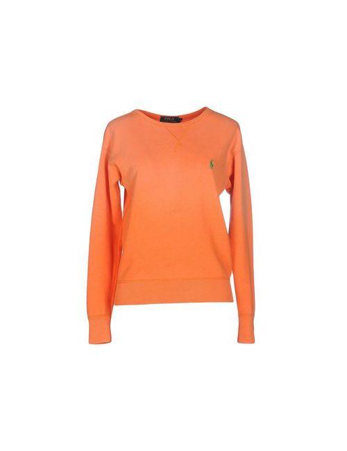 Polo Ralph Lauren | Женская Оранжевая Толстовка