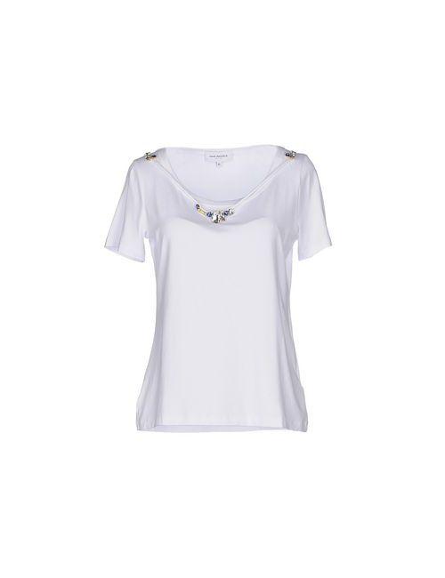 Anna Rachele Jeans Collection | Женская Белая Футболка