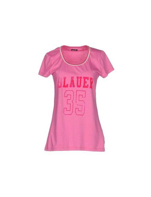Blauer | Женская Фиолетовая Футболка
