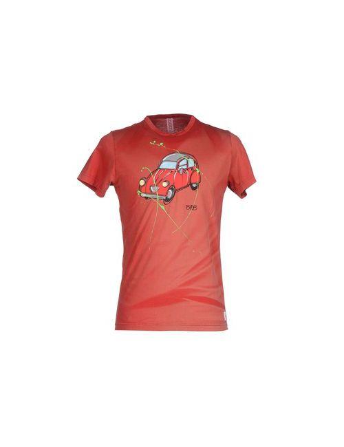 Bob | Мужская Красная Футболка